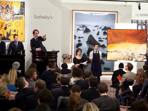30 of the World's Top Artists at Auction