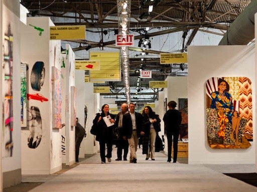 NYC Art Fairs Gird for 2013 Editions